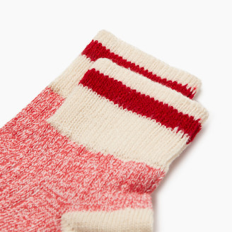 Roots Womens Cotton Cabin Ankle Sock 2 Pack
