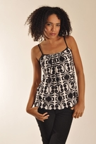 Velvet Akasha Tank Top in Black
