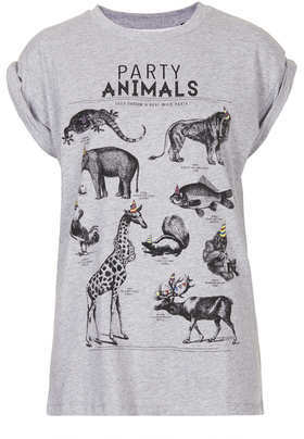 Topshop Tee and cake Party animals tee