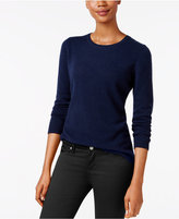 Charter Club Cashmere Crew-Neck Sweater, Only at Macy's, 17 Colors Available