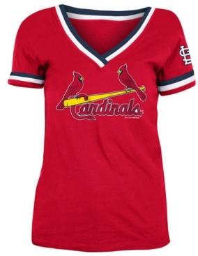 5th & Ocean St. Louis Cardinals Women's Contrast Binding T-Shirt