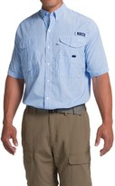 Columbia PFG Super Bonehead Classic Shirt - UPF 30, Short Sleeve (For Big and Tall Men)