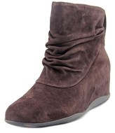 Me Too Houston Round Toe Suede Ankle Boot.