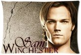 Pillowcase 2421 Custom Supernatural SPN Sam Winchester Pillowcase Standard Size 20x30 Pillow Cover Case(Twin sides)