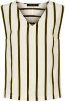 Jaeger Bi-Colour Striped Top