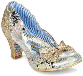 Irregular Choice STAGE LEFT women's Heels in Gold