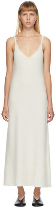 Jil Sander White Mohair Tank Dress