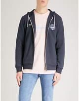 Adidas Finnington Flower Cotton-jersey Hoody