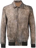 Salvatore Santoro - biker jacket - men - Leather - 48