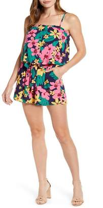 Gibson x Hot Summer Nights Two Peas Layered Camisole Romper (Regular & Petite) (Nordstrom Exclusive)