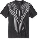 INC International Concepts Men's Era Graphic-Print Split-Neck T-Shirt, Only at Macy's