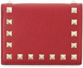 Valentino Garavani Rockstud card holder wallet