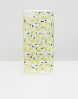 Signature Lemon Print Iphone 7 Case