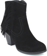 Refresh Black Fringe Dion Bootie