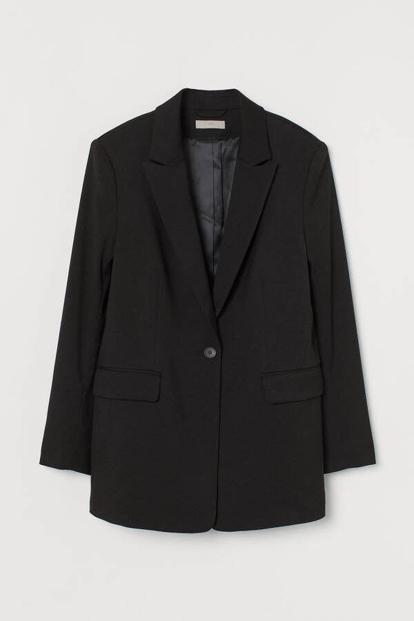 Thumbnail for your product : H&M Single-breasted Blazer - Black