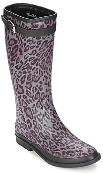BeOnly Be Only CAVALIERE REPTILIUM women's Wellington Boots in Purple