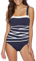 Nautica Soho Colorblock Strapping One-Piece