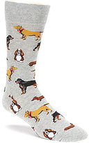 Hot Sox Multi Dog Crew Socks