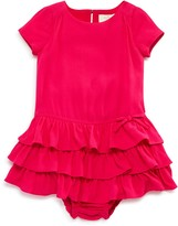 Kate Spade Girls' Tiered Knit Dress & Bloomer Set