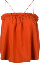 Nanushka - smocked top camisole - women - Polyester/Spandex/Elastane - M