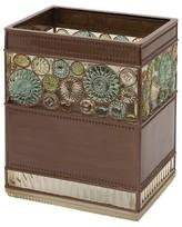 India Ink Boddington Resin Artisan Waste Basket - Bronze