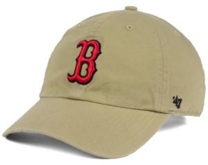 '47 Boston Red Sox Khaki Clean Up Cap
