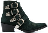Toga Pulla buckle embellished ankle boots