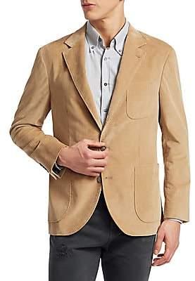 Brunello Cucinelli Men's Corduroy Blazer Jacket