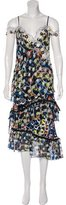 Peter Pilotto Spring 2016 Off-The-Shoulder Dress