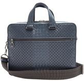 Bottega Veneta Intrecciato And Embroidered Leather Briefcase