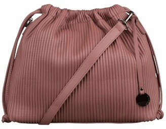 Mocha Angela Bucket Bag - Mauve