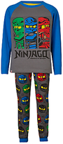 Lego Ninjago Children's Print Pyjamas, Grey