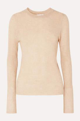 BEIGE Skin - Maura Ribbed Wool-blend Sweater