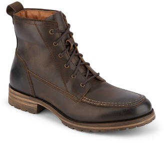 Lucky Brand Garrison Leather Lace-Up Boot