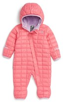 The North Face 'ThermoBall TM ' PrimaLoft ® Bunting (Baby Girls)