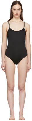 La Perla Black Simple One-Piece Swimsuit