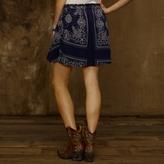 Denim & Supply Ralph Lauren Draped Bandana Skirt