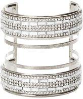 Charlotte Russe Plus Size Rhinestone Caged Cuff Bracelet