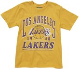 Junk Food Clothing Los Angeles Lakers Top - Mustard-M (8)