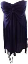 BCBGMAXAZRIA Purple Cotton Dress for Women