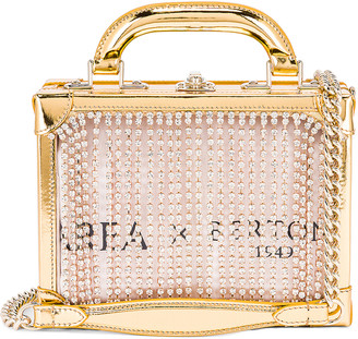 Area Ling Ling Bag in Gold | FWRD