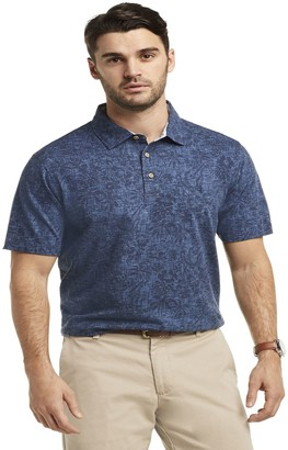 Izod Men's Dockside Saltwater Classic-Fit Printed Polo