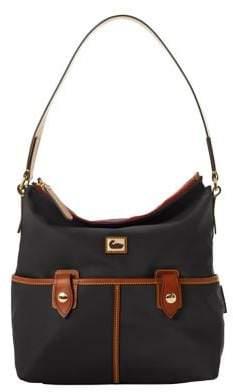 Dooney & Bourke Small Camden Nylon Zip Hobo Bag