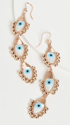 Beck Jewels Evil Eye Gold Trio