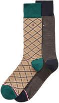 Tommy Hilfiger Men's 2-Pk. Plaid Socks