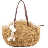 Sam Edelman Isabella Corn Straw Tote Bag