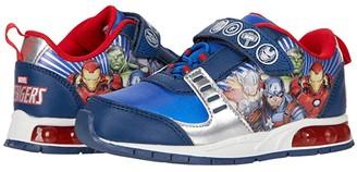 Favorite Characters Avengerstm Lighted Athletic AVF366 (Toddler/Little Kid) (Blue) Boy's Shoes