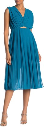 Rachel Roy Galen Pleated Dress (Regular & Plus Size)