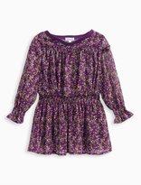 Splendid Girl Printed Crinkle Chiffon Dress