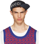 Gucci Navy 'Gucci Loved' Cycle Cap